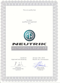 Neutrik Authorized Reseller